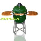 Auplex 21 inch outdoor clay oven smoker kamago bbq grill smoke salmon