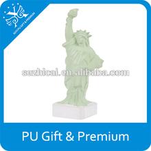 estatua de la libertad para aliviar el estrés de la pu de la espuma estatua de la libertad para aliviar el estrés ball estatua de la libertad contra el estrés pelota
