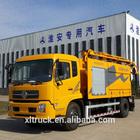 high pressure water, high vacuum level, vacuum jetting truck with PRATISSOLI high pressure pump