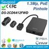 Hikvision 1.3MP WDR Pinhole Covert Network hidden camera