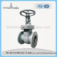 Carbon Steel PN16 DN80 long Stem gate valve