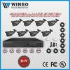 8CH DVR KIT for USA Market, All-in-one LCD DVR kit,DIY CCTV DVR Kit SAV-DH7108 +SAV-CW348G