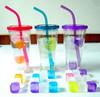 dice ice cube & plastic transparent cube & ice cube plastic