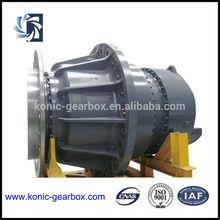 Wind turbine gearbox,speed-up gearbox for wind turbine generator, gearbox