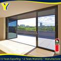 apartamento de rotura de puente térmico de aluminio y doble vidrio plegable para la puerta de entrada