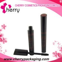 Fashion Black UV coating plastic mascara bottle with nylon brush