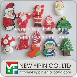 Christmas series customized 2D / 3D soft PVC fridge magnet / refrigerator magnet for kid's gift