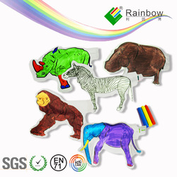 Paper Painting Inflatable animal toys