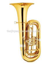 Rotary Tuba 3 Keys Brass Instrument