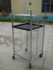 Metal Supermarket Wire roll cagesdisplay cage / display shelf / storage rack