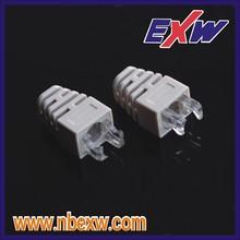 Cat7 double RJ45 Connector plug cat6a FTP