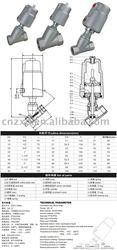angle seat valve,flow control angle valve