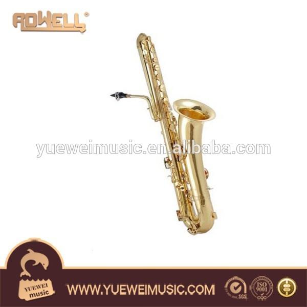 Saxophone basse, brass vent instrument de musique