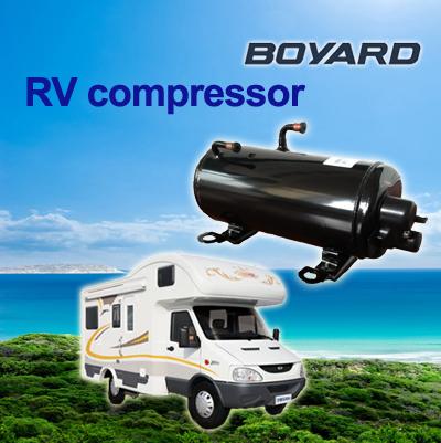 compressor rotativo horizontal para rv caravana de ar condicionado