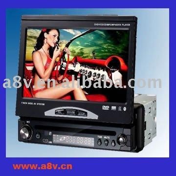 Car dvd player radio 1 din with FM/AM radio IPOD,RDS BLUETOOTH USB SD TV