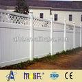 zhejiang afol de plástico de seguridad cercas de privacidad de jardín de pvc de esgrima temporal