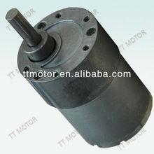 37mm 12V high torque dc spur gear motor