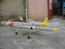 Nitro airplane P-51 mustang-46 F007 airplane model