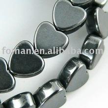 15mm heart shape hematite jewelry design gems