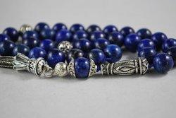 Lapis Lazuli buddhist 108 prayer beads japa malas