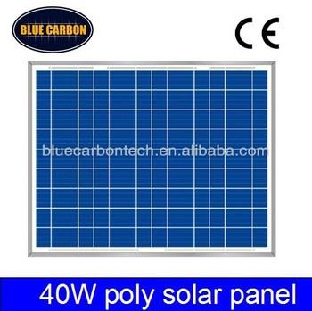 High quality 40W poly solar panel