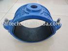 pvc pipe saddle clamp