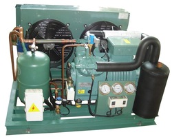 Cold room Bitzer semi-hermetic two-stage compressor condensing unit