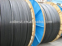 China XLPE insulated high voltage grounding Copper High Voltage Cable