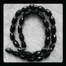 12x7mm Obsidian Gemstone Bead