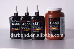 UV Cure Acrylic Adhesive/Glue for Metal/ABS/PVC Bonding