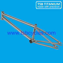 "bmx bicycle frame titanium bike frame 20"" TSB-BM1101"