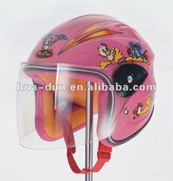 Huadun kids open face motorcycle helmet children half face cartoon helmet HD-202