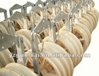 Conductor sheaves or pulley block or String block