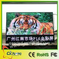 led display sign p16 outdoor full color led display mini led display