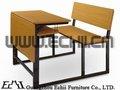 escuela de escritorio con adjunta chairschool muebles de escritorio y una silla doubleschool escritorio doble