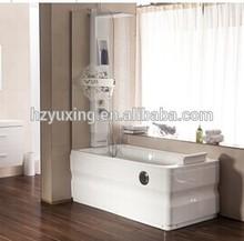 massage bathtub with jacuzzy heater air bubble pump massage bathtub