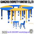 Vivero mobiliarioescolar, baratos pupitres y sillas conjunto 6 para los niños, de la escuela utiliza silla de escritorio