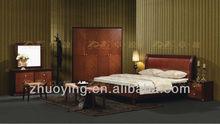 New classic wooden bedroom furniture ZOE07#