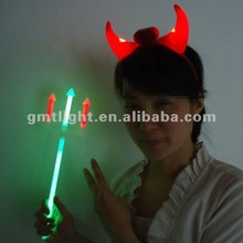 night use hallowmas set glow fork and devil horn