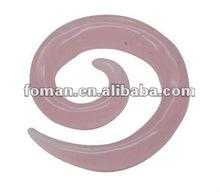 40x10mm exotic rose quartz carving gemstone craft