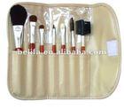 hot sale nice design facial makeup brush sets with high quality
