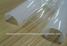 LED tube milky lamp shade & cover