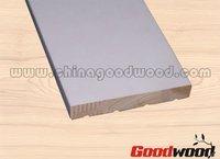 Gesso Primed Wood Flat Interior Door Jamb