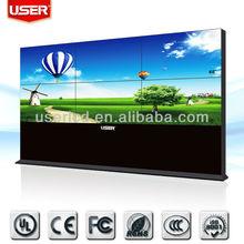 47 inch LG super narrow bezel 6.3mm 3x3 LCD tv wall