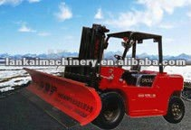LC3500ZJXC high performance snow sweaping shovel/snow cleaning machine