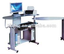 commercial furniture of modern ergonomic design glass computer table/ desk (TT-1007)
