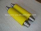 high precision Polyurethane rubber roller, steel hub inside