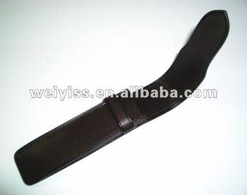 leather pen case/pen box/pencil case