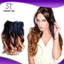 Fashionable Kanekalon Hair,Ombre Kanekalon Synthetic Hair Extensions