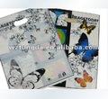 elegante platico saco impresso com borboleta